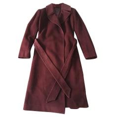 Manteau ADOLFO DOMINGUEZ Rouge, bordeaux