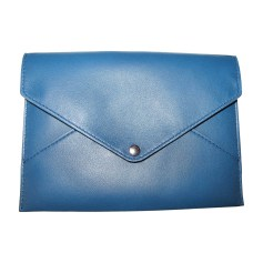 Pochette LOUIS VUITTON Bleu, bleu marine, bleu turquoise