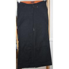Pantalon évasé COP-COPINE Gris, anthracite