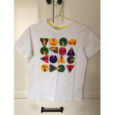 T-shirt FENDI White, off-white, ecru