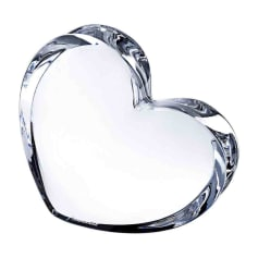 Parure bijoux BACCARAT transparent