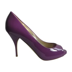 Peep-Toe Pumps VALENTINO Purple, mauve, lavender