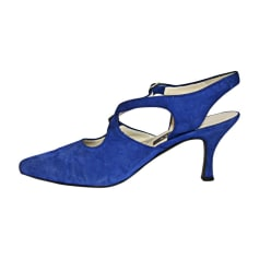 Sandales à talons BALLY Bleu, bleu marine, bleu turquoise