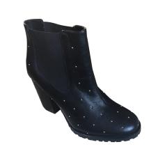 High Heel Ankle Boots PAUL & JOE SISTER Black