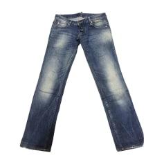 Jeans droit DSQUARED Clair