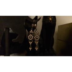 Boucles d'oreille MICHAL NEGRIN Doré, bronze, cuivre