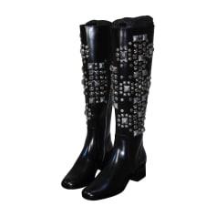 Riding Boots SAINT LAURENT Black