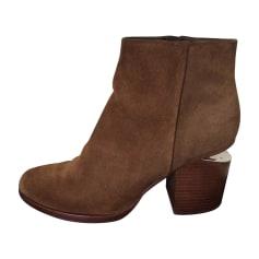 High Heel Ankle Boots ALEXANDER WANG Brown