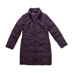 Down Jacket MONCLER Purple, mauve, lavender
