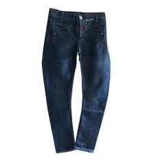 Jeans droit MARITHÉ ET FRANÇOIS GIRBAUD Bleu, bleu marine, bleu turquoise