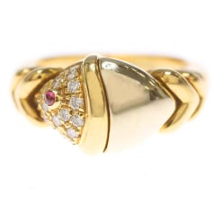 Ring BULGARI Gold, Bronze, Kupfer