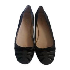 Ballet Flats PRADA Gray, charcoal