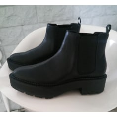 be69a9af5985 Bottines   low boots Mango Femme   articles tendance - Videdressing