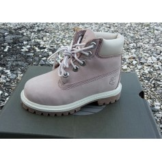 Bottines TIMBERLAND Rose, fuschia, vieux rose