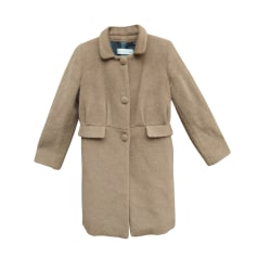 Coat GOLDEN GOOSE Beige, camel