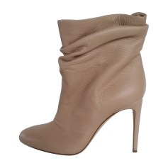 High Heel Ankle Boots BURBERRY Beige, camel
