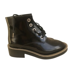 Bottines & low boots motards SANDRO Noir