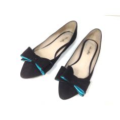 Ballet Flats MELLOW YELLOW Black