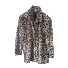 Pelzmantel ZARA motif léopard
