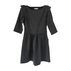Mini Dress PAUL & JOE Gray, charcoal
