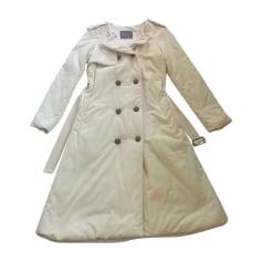 Cappotto LANVIN Bianco, bianco sporco, ecru