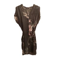 Mini Dress MASSIMO DUTTI Gray, charcoal