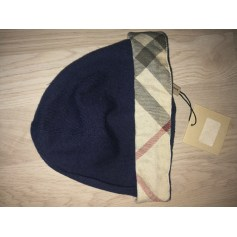 Beanie BURBERRY Blue, navy, turquoise