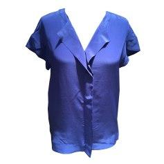 Bluse COMPTOIR DES COTONNIERS Blau, marineblau, türkisblau
