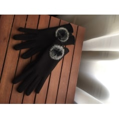 Fingerless Gloves GAS Black