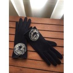 Fingerless Gloves GAS Blue, navy, turquoise