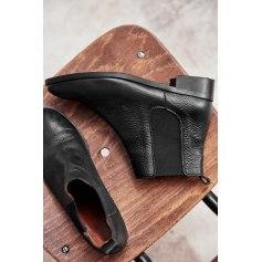 Bottines & low boots plates BALZAC PARIS Noir