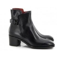 Bottines & low boots à talons SANTONI Noir