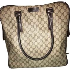 Leather Handbag GUCCI Beige, camel
