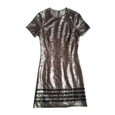 Midi Dress TOMMY HILFIGER Silver