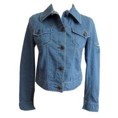 Veste en jean DKNY Bleu, bleu marine, bleu turquoise