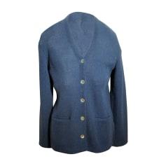 Gilet, cardigan ALPACA 111 Bleu, bleu marine, bleu turquoise