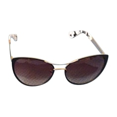 Sunglasses CHRISTIAN LACROIX Brown