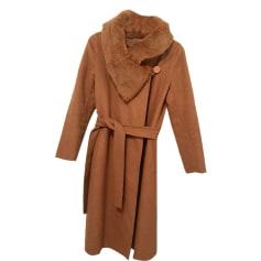 Coat MAX MARA Beige, camel