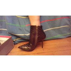 Bottines & low boots à talons SAN MARINA Marron