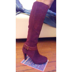 e70b7ef1ee4229 Absatzstiefel 3 SUISSES COLLECTION Rot