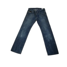 Pants DIESEL Blue, navy, turquoise