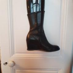 Bottines & low boots à compensés ARCHE Noir