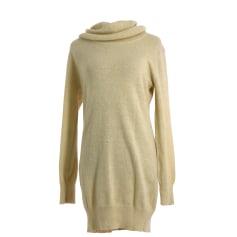 Robe pull 1.2.3. Blanc, blanc cassé, écru