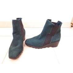 Bottines & low boots à compensés ARCHE Vert