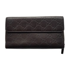 Portefeuille GUCCI Marron