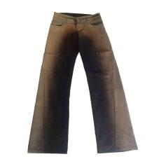 Jeans droit D&G Beige, camel