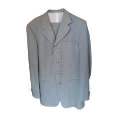 Costume complet VERSACE Gris, anthracite