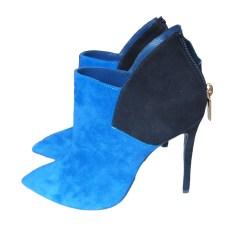 Absatzstiefeletten POLLINI Blau, marineblau, türkisblau