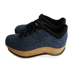 Scarpe da tennis MIU MIU Blu, blu navy, turchese