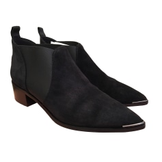 High Heel Ankle Boots ACNE Black